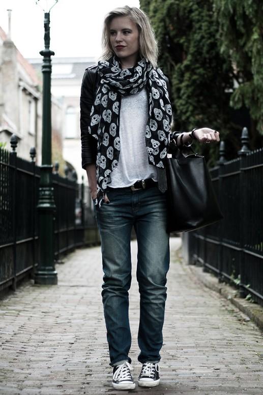 Moda Los pañuelos estampados están de moda 4
