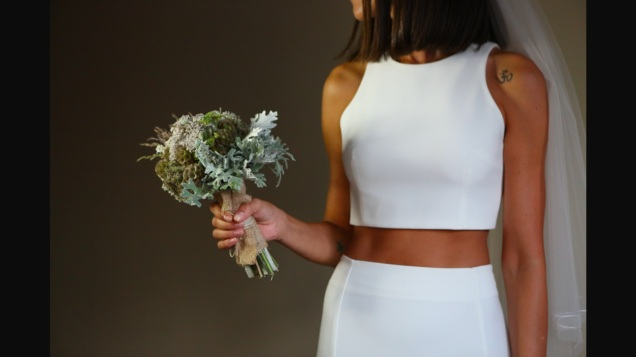 crop top wedding 2