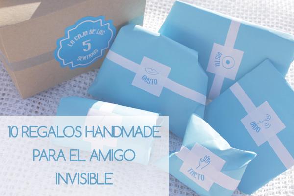 Ideas amigo invisible linnet events for Ideas para amigo invisible