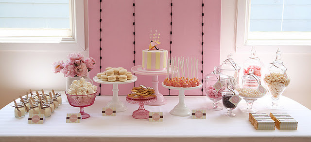 vintage_umbrella_baby_shower_pink_yellow_decorations_dessert_table_ideas11